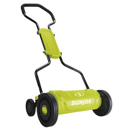 Quad-Wheel Silent Push Reel Mower