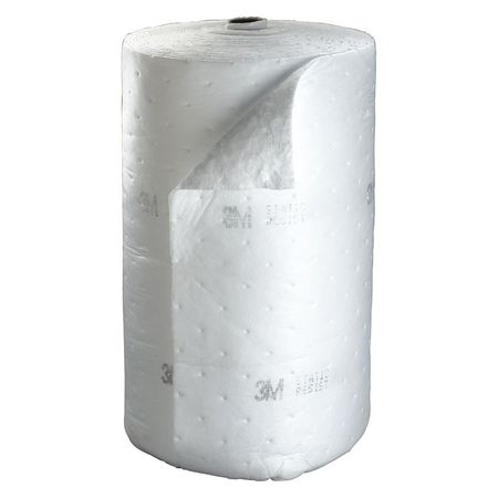 Absorbent Roll, Stat Resist, White, 73 gal.