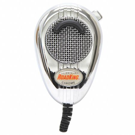CB Mic Chrome, Noise Cancelling, 4 Pin