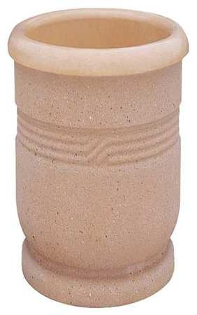 Wausau Tile Planter, Round, 18in.Lx18in.Wx24in.H TF4028W22