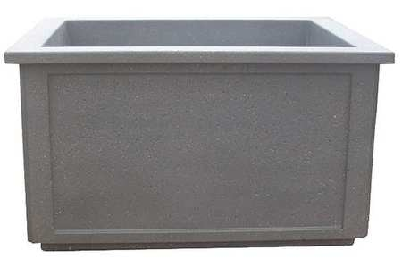 Wausau Tile Planter, Rectangle, 64in.Lx52in.Wx36in.H TF4208W22