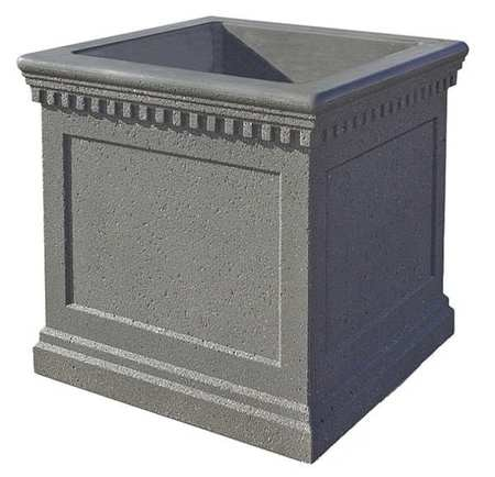 Wausau Tile Planter, Square, 24in.Lx24in.Wx20in.H TF4236W22