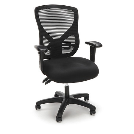 Awe Inspiring Mesh Office Chair Adjustable Arms Black Home Interior And Landscaping Transignezvosmurscom