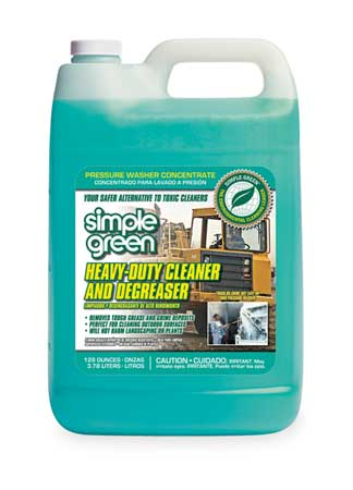 Simple Green Liquid 1 gal. Heavy Duty Cleaner and Degreaser,  Jug 2310000418203
