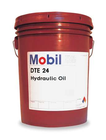 Mobil Mobil DTE 24, Hydraulic, ISO 32, SAE Grade 10, 5 gal  105466