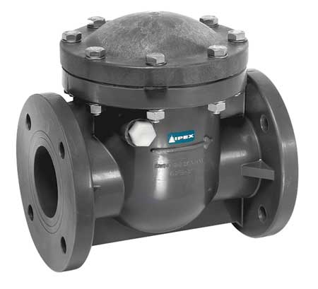 """Details about  /2/"""" PVC SWING CHECK VALVE FLANGED SCHEDULE 80"""