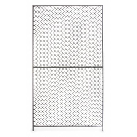 Folding Guard Wire Partition Panel, 2 ft x 10 ft 210