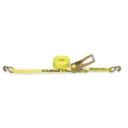 Lift-All Cargo Strap, Ratchet, 27ft x 2 In, 3300 lb. 26422