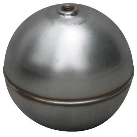 Naugatuck Float Ball, Round, SS, 4 In GR40S4241A