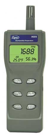 Indoor Air Quality Monitor, Handheld