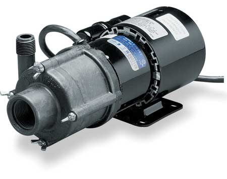 """1/25 HP PPS Magnetic Drive Pump 115V 1/2"""" FPT"""