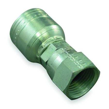 Hydraulic Crimp Fitting Fitting Size 9//16 x 3//8 Fitting Material Steel x Steel