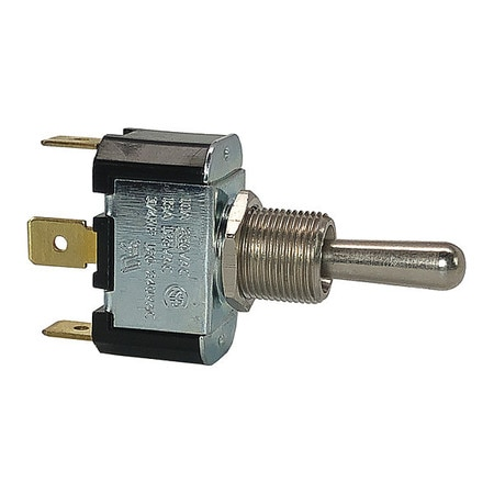 CARLING TECHNOLOGIES Toggle Switch,SPDT,10A @ 250V,QuikConnct 2FC53-73-TABS