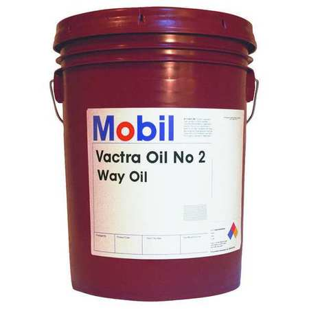 Mobil 5 gal. Mobil Vactra No. 2,  Way Oil,  ISO 68 105480