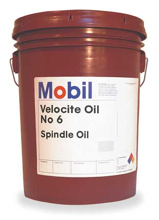 Mobil Mobil Velocite 6,  Spindle Oil,  5 gal. 105482