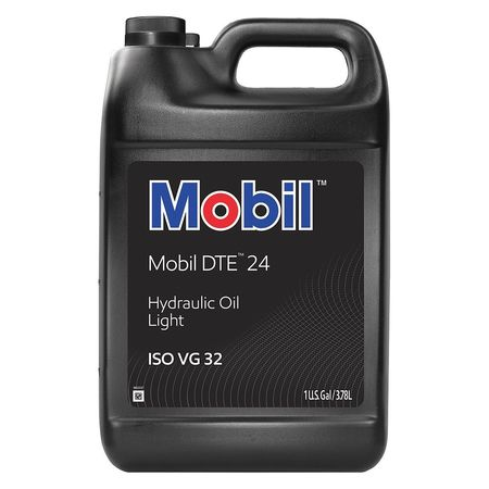 Mobil Mobil DTE 24, Hydraulic, ISO 32, SAE Grade 10, 1 gal