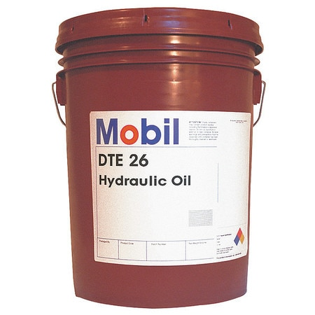 Mobil Mobil DTE 26, Hydraulic, ISO 68, SAE Grade 20, 5 gal  105475