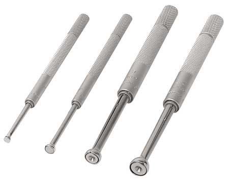 Small Hole Gage Set, 4 Pc, 0.125-0.5 In