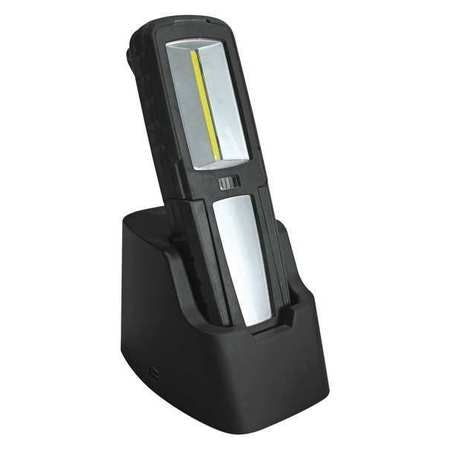 Lumapro Rechargeable Hand Lamp, LED, 2.4W, Red, Blk 40KG16