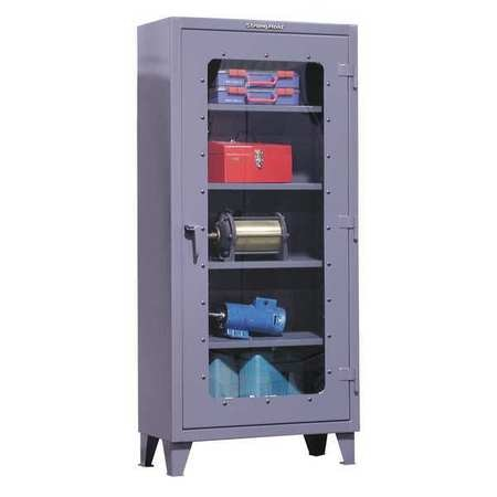 """Strong Hold 12 ga. Steel Storage Cabinet,  36"""" W,  79"""" H,  Shelving,  Stationary 36.1-LD-164"""