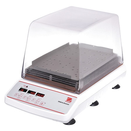 """Ohaus Incubating Shaker, 7.8"""" H, 100 to 1200 rpm ISLDMPHDG"""
