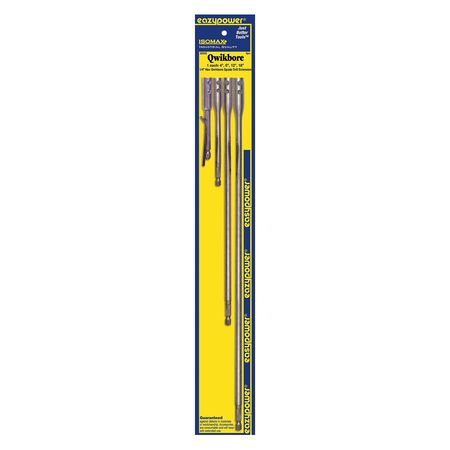 Eazypower Hex Extensions, 1/4 In, PK4 88666