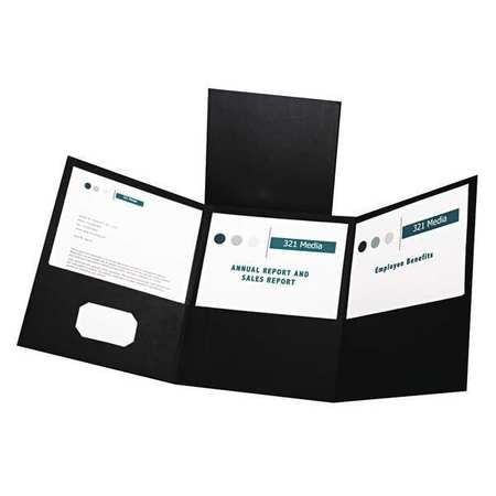 Oxford Tri-Fold Folder,  Holds 150 Pages,  PK20 59806