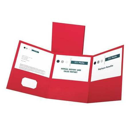 Oxford Tri-Fold Folder,  Holds 150 Pages,  PK20 59811