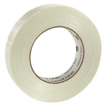 Universal One Filament Tape, 24mm x 54.8m, Clear UNV31624