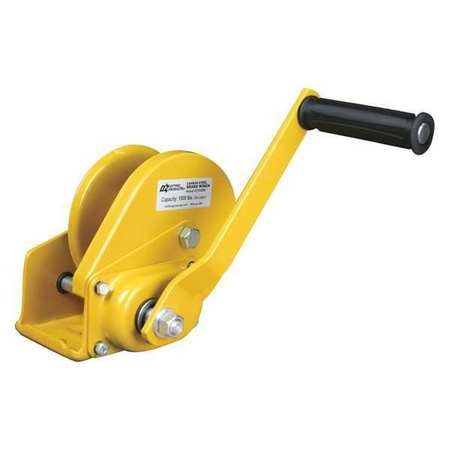 Oz Lifting Products Hand Winch, 1000 lb., Carbon Steel OZ1000BW