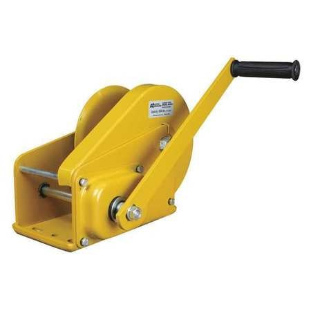 Oz Lifting Products Hand Winch, 2000 lb., Carbon Steel OZ2000BW