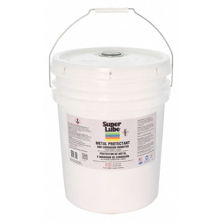 Super Lube Corrosion Inhibitor,  Wet Lubricant Film,  5 Gal.,  Pail 83050