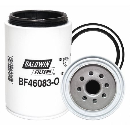baldwin filters fuel filter, spin-on, 6-3/16