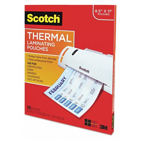 Pouch, Thermal, 3mm, Clear, PK100