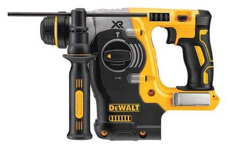 Dewalt 20V MAX* 1 in. XR(R) Brushless Cordless SDS PLUS L-Shape Rotary Hammer (Tool Only) DCH273B