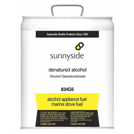 Denatured Alcohol, 5 gal , Solvent