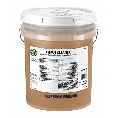 Zep Liquid 5 gal. Cleaner and Degreaser,  Pail 45535