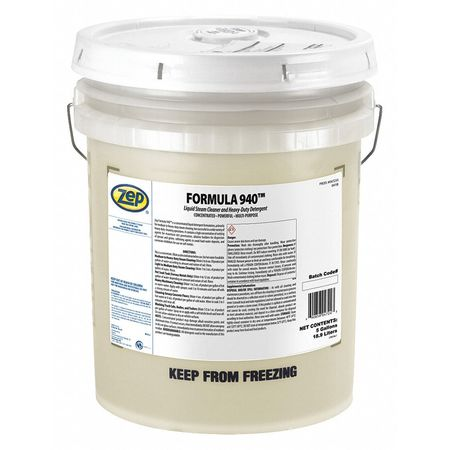 Zep Liquid 5 gal. Heavy Duty Cleaner and Degreaser,  Pail 47235