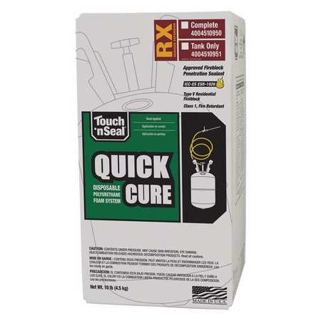 Touch N' Seal Insulation Spray Foam Sealant Kit,  10 lb,  Cylinder,  Beige,  1 Component 7565000063