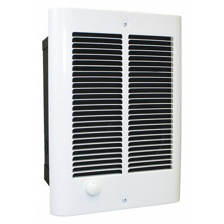Dayton Recessed Electric Wall-Mount Heater,  Recessed or Surface,  1500/1125 W 447V31
