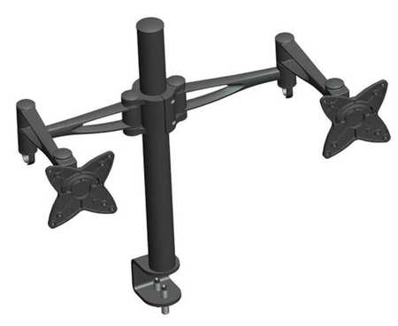 Dual Monitor Arm, Black