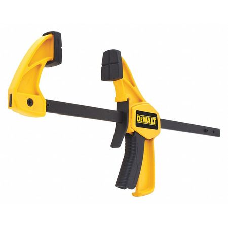 """4-1/2"""" Trigger Clamp with Resin Handle and 1-1/2"""" Throat Depth"""