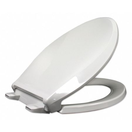 Enjoyable Toilet Seat Elongated 18 5 8 Closed Front With Cover White Caraccident5 Cool Chair Designs And Ideas Caraccident5Info