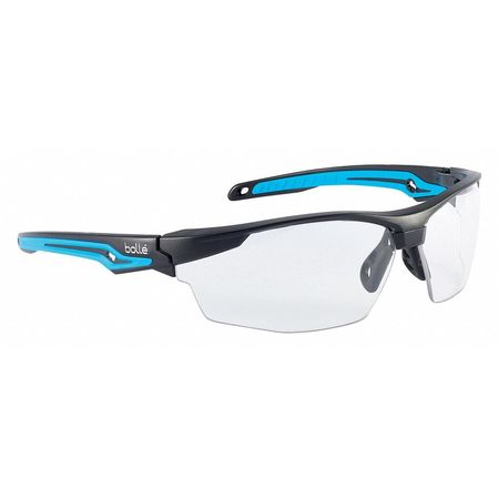 f0d7dc420d7f Bolle Safety Safety Glasses, Clear Lens, Wraparound 40301 | Zoro.com