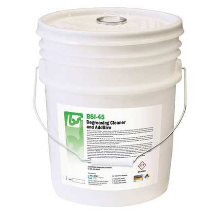 Best Sanitizers, Inc. Foam 5 gal. Degreasing Cleaner and Additive,  Pail BSI452