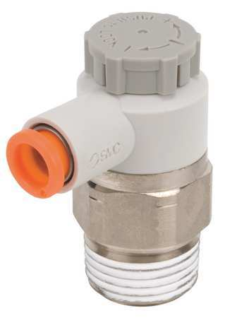 Smc Speed Control Valve, 5/16 In Tube, 3/8 In AS3201F-N03-09SA