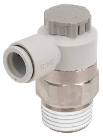 Smc Speed Control Valve, 12mm Tube, 1/2 In AS4201F-04-12SA