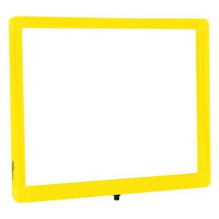 Visiontron Sign Frame, Yllw, Indr/Outdr, 14in.Lx11in.H FR1411DSYWYW