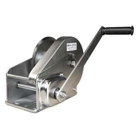Oz Lifting Products Hand Winch, 2000 lb., 7-7/8 in. Overall W OZ2000BWSS