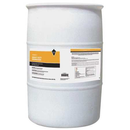 Tough Guy Liquid 55 gal. Cleaner Degreaser,  Drum 49NW17